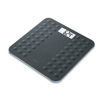 Pèse-personne silicone GS300 Noir Pèse-personne silicone GS300 Noir BEURER