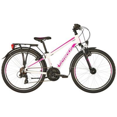 "Rockville Street - Vélo enfant - 24"" rose/blanc Rockville Street - Vélo enfant - 24"" rose/blanc SERIOUS"