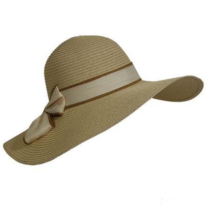 Chapeau capeline paille CHAPEAU-TENDANCE