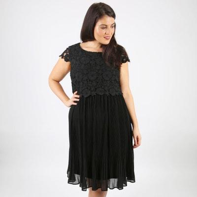Pleated Lace Top Dress Pleated Lace Top Dress LOVEDROBE