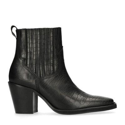 Chelsea boots en cuir à talon Chelsea boots en cuir à talon SACHA cec69fb3e003