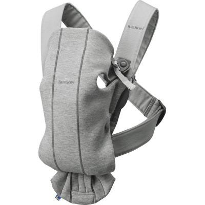 Porte bébé Mini Jersey 3D Gris clair Babybjörn Porte bébé Mini Jersey 3D  Gris clair Babybjörn 01f64606fc4