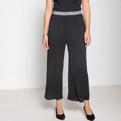 Pantalon large, plissé permanent Pantalon large, plissé permanent ANNE  WEYBURN e07443065b2e