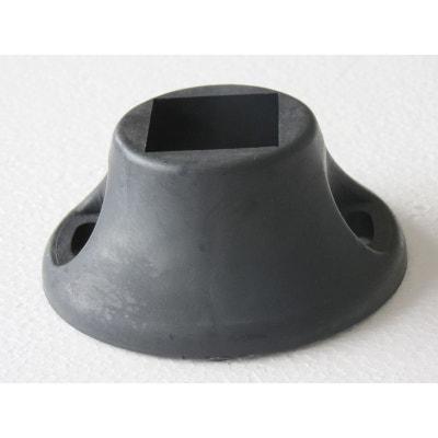Kit socle d'arrêts - Coloris noir Kit socle d'arrêts - Coloris noir HABITAT ET JARDIN