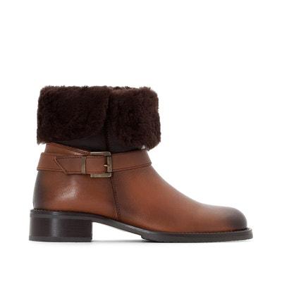 Boots in pelle imbottiti JONAK