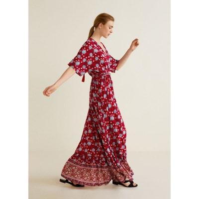 35507bce4fc Robe longue fushia mango – Site de mode populaire