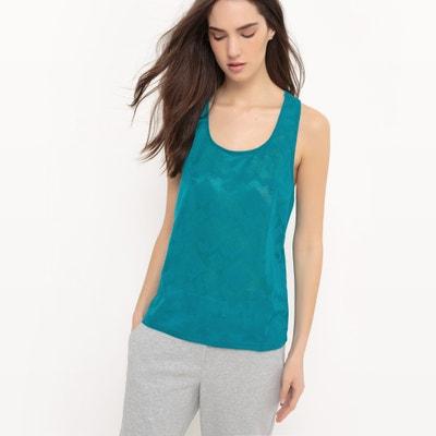 Camiseta sin mangas, espalda estilo nadador Camiseta sin mangas, espalda estilo nadador La Redoute Collections