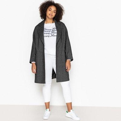 Mid-Length Tweed Coat Mid-Length Tweed Coat CASTALUNA PLUS SIZE