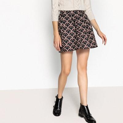 Flared Graphic Print Skirt Flared Graphic Print Skirt MOLLY BRACKEN