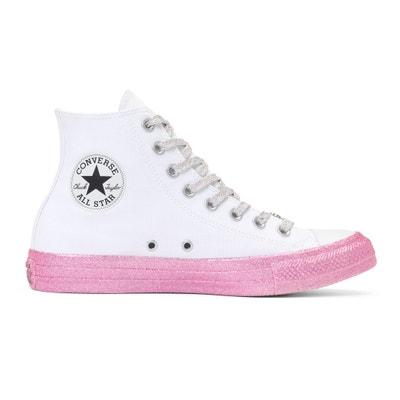 Zapatillas de caña alta de lona CTAS Hi Miley Cyrus CONVERSE