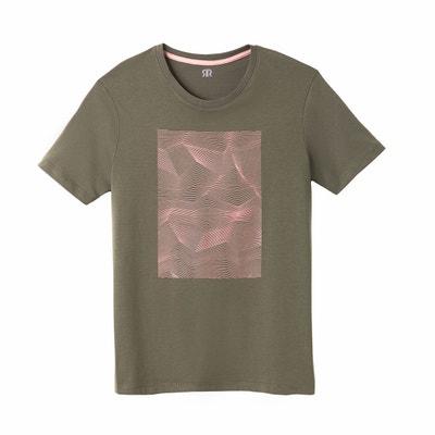 Bedrukt T-shirt met ronde hals en korte mouwen La Redoute Collections