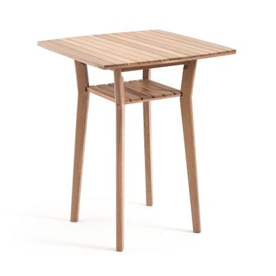 Table de bar haute de jardin acacia, GAYTARA Table de bar haute de jardin acacia, GAYTARA La Redoute Interieurs