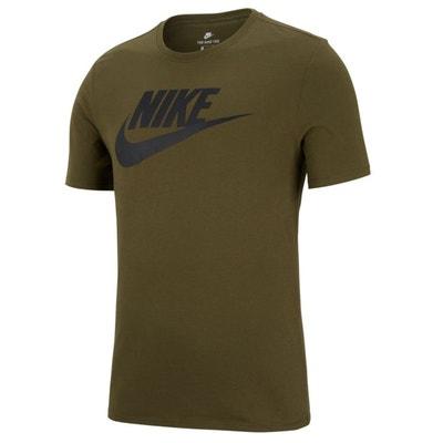 T-shirt col rond manches courtes imprimé devant T-shirt col rond manches courtes imprimé devant NIKE