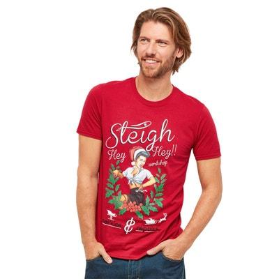 6af6b0466976d T-shirt homme à manches courtes de Noël T-shirt homme à manches courtes. JOE  BROWNS