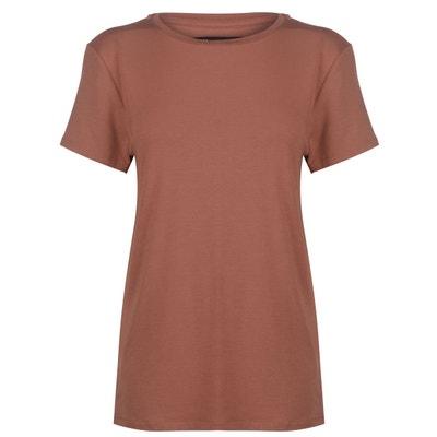c10a07fa7df T-shirt col rond manche courte T-shirt col rond manche courte FIRETRAP