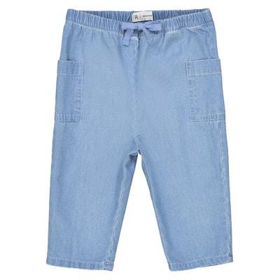 Pantaloni denim leggero 1 mese-3 anni La Redoute Collections