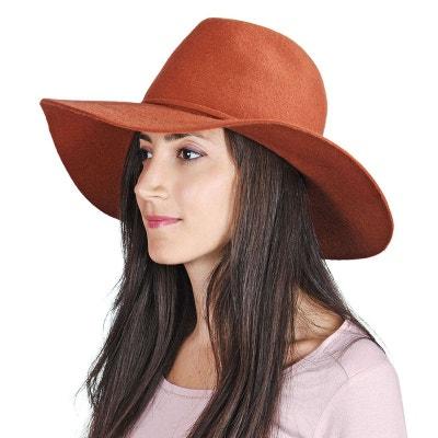 Chapeau femme laine Calia Orange - Made in Europe Chapeau femme laine Calia Orange - Made in Europe ALLEE DU FOULARD