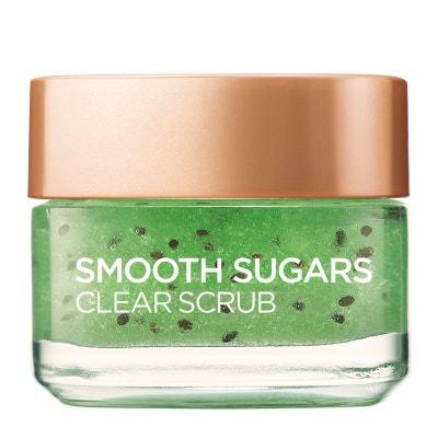 Smooth Sugar Clear Kiwi Visage et Lèvres Exfoliant 50ml L'OREAL PARIS