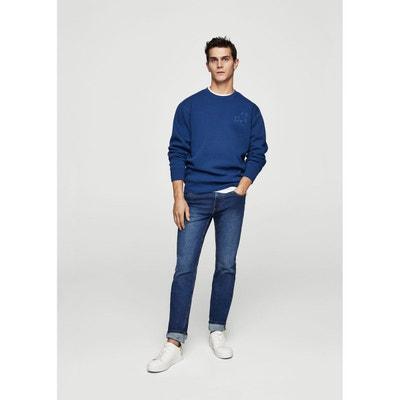 Sweater coton brodé MANGO MAN