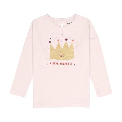 T-shirt corona brillante 3 - 12 anni La Redoute Collections