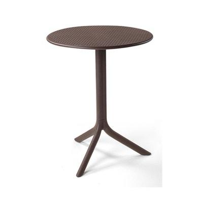 table jardin ronde step 60 cm nardi - Table Ronde Jardin
