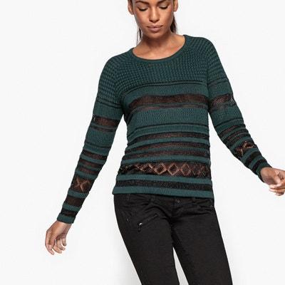 Mesh Style Lace Jumper FREEMAN T. PORTER