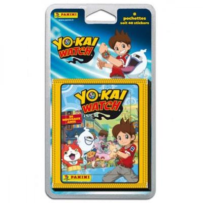 Cartes Collectionner Yo Kai Watch Blister 8 Pochettes