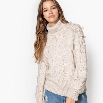 Pull con collo a dolcevita, lana Pull con collo a dolcevita, lana La Redoute Collections