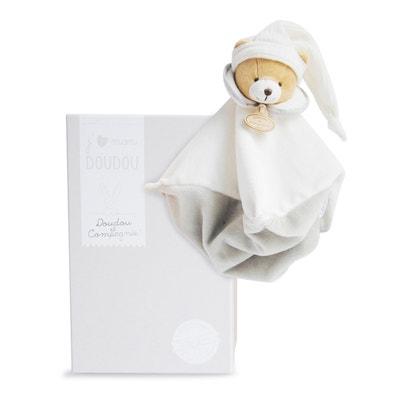 Doudou l'Original Beige Teddy Bear Comfort Blanket Doudou l'Original Beige Teddy Bear Comfort Blanket DOUDOU ET COMPAGNIE