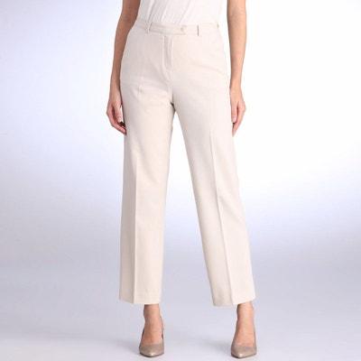 solde femme droit Pantalon beige Redoute La en w6qwEnRI