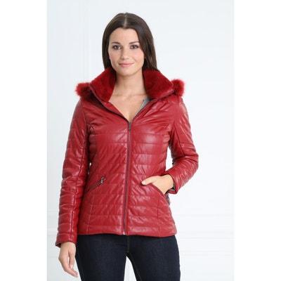 Manteau rouge femme en solde   La Redoute 6756a475d0f6