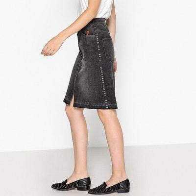 Stretch Cotton Buttoned Skirt Stretch Cotton Buttoned Skirt MAISON SCOTCH