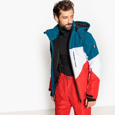 Chaqueta de esquí con cuello alto y capucha Chaqueta de esquí con cuello alto y capucha La Redoute Collections