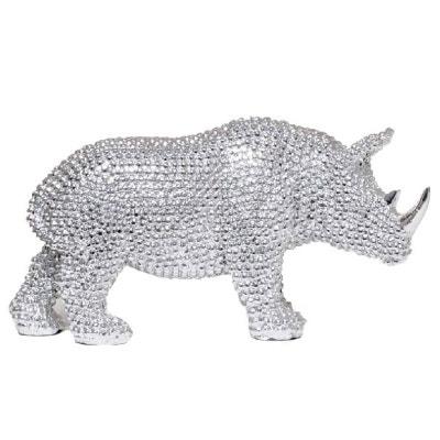 Statuette de décoration en résine Rhinocéros Statuette de décoration en résine Rhinocéros UNITED LABELS