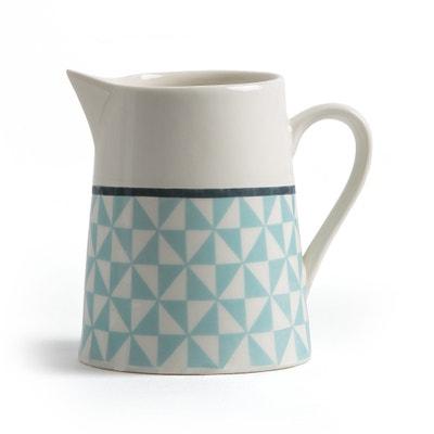 Jarra de leche de porcelana, altura 10 cm, Adid La Redoute Interieurs