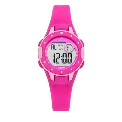 Montre fille LCD Affichage digital bracelet silicone boitier 32 mm Montre fille LCD Affichage digital bracelet silicone boitier 32 mm LULU CASTAGNETTE