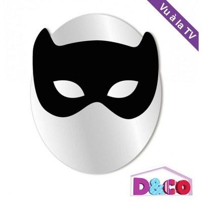 Miroir enfant : Petit masque de chat noir Miroir enfant : Petit masque de chat noir DECOLOOPIO