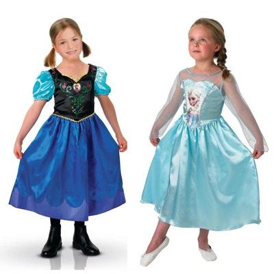 Déguisements La Reine des Neiges (Frozen) : Coffret Classique Elsa + Anna : 5/6 ans RUBIE'S