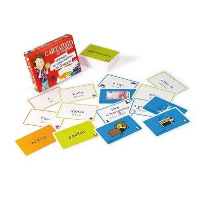 Jeu de cartes Cartatoto : Anglais 3 : Les verbes FRANCE CARTES