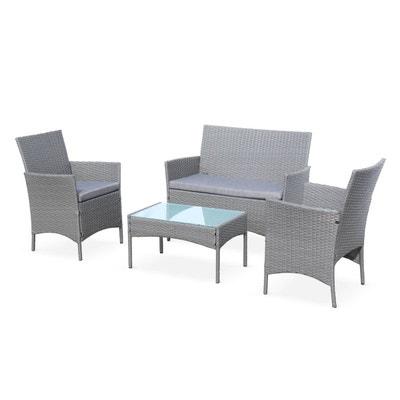 Coussin fauteuil jardin en pvc | La Redoute