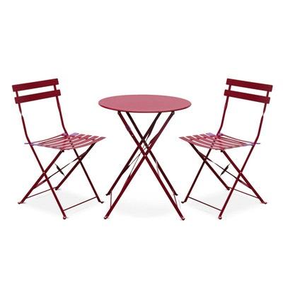 Table et chaise de jardin pour balcon en solde | La Redoute