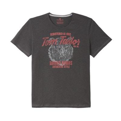 T-shirt met ronde hals en korte mouwen TOM TAILOR