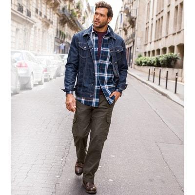 Pantalon cargo côtés élastiqués CASTALUNA FOR MEN
