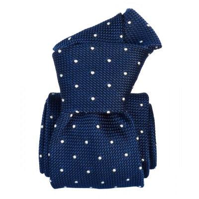 Cravate grenadine de soie, Segni & Disegni, Fjord Bleu SEGNI ET DISEGNI