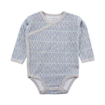 FIXONI Body portefeuille à manches longues graphique bébé FIXONI f60d9bf254c
