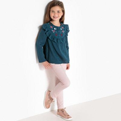 Blusa bordada, 3-12 anos Blusa bordada, 3-12 anos La Redoute Collections