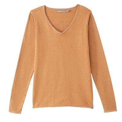 Pullover mit Kaschmiranteil, V-Ausschnitt, FREEMAN-Logo hinten Pullover mit Kaschmiranteil, V-Ausschnitt, FREEMAN-Logo hinten FREEMAN T. PORTER