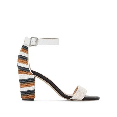Sandales talon fantaisie La Redoute Collections