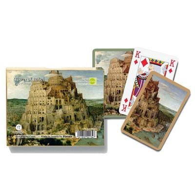 Jeux de cartes : Tour de Babel 2 x 55 cartes Jeux de cartes : Tour de Babel 2 x 55 cartes PIATNIK