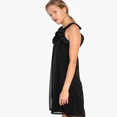 Ärmelloses Kleid in ausgestellter Schnittform Ärmelloses Kleid in ausgestellter Schnittform MADEMOISELLE R